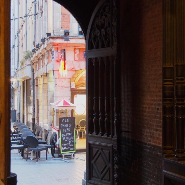 """""""Cafe views"""" stock image"""