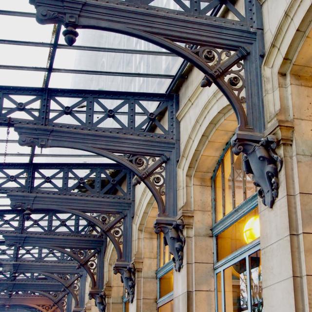 """Roubaix Train Station"" stock image"