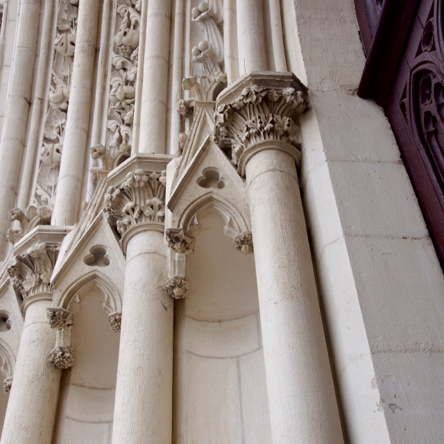 """Church Details"" stock image"