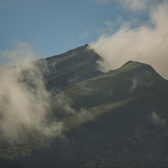 """Mount Snowdon"" stock image"