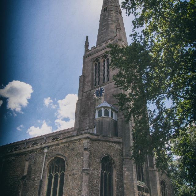 """Parish Church"" stock image"