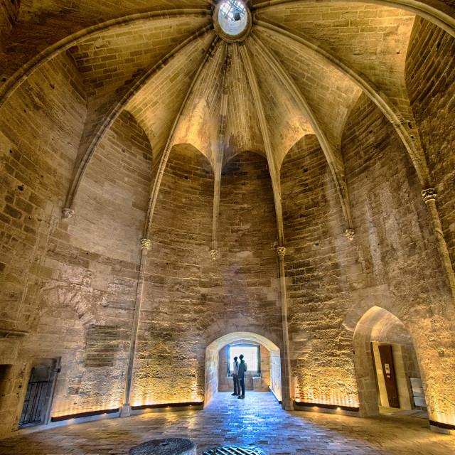 """""""Inside Tour de Constance"""" stock image"""