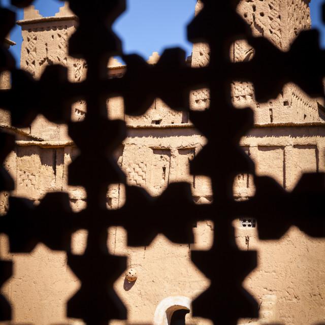 """The 17th century Amerhidl kasbah, Skoura, Morocco"" stock image"
