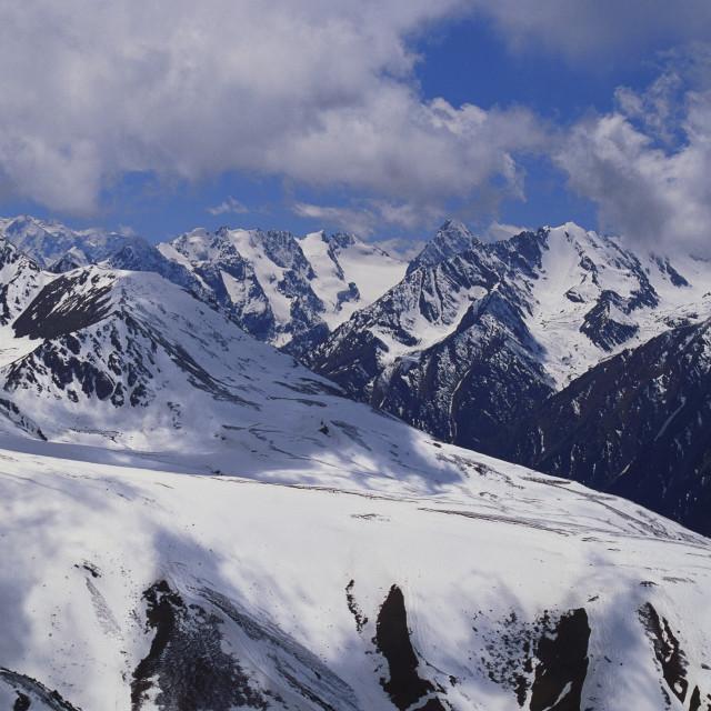 """Cis Tien Shan Range Near Lake Issykkul, Kyrgyzstan"" stock image"