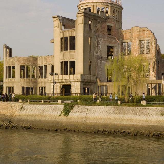 """Atomic bomb Dome, Hiroshima, UNESCO World Heritage Site, Japan, Asia"" stock image"