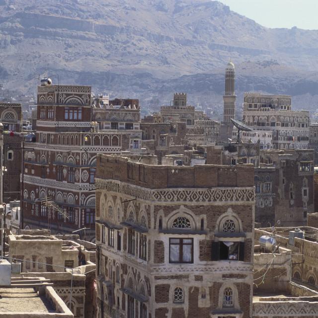 """""""Sanaa, Yemen"""" stock image"""