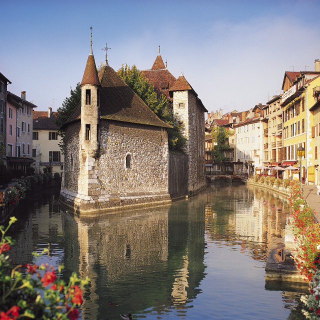 """""""Annecy, Savoie, France"""" stock image"""