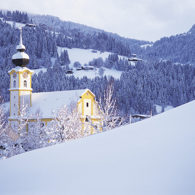 """Soll, Tyrol, Austria"" stock image"