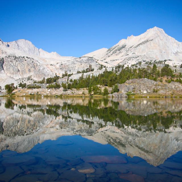"""Greenstone Lake"" stock image"