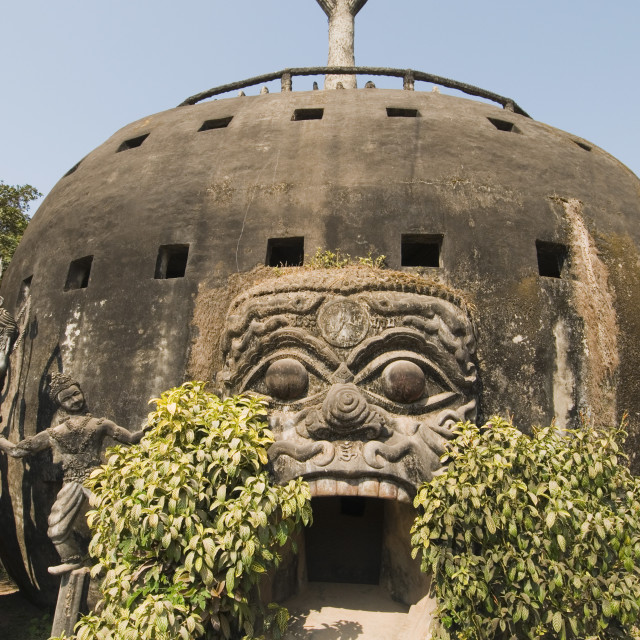"""""""Buddha Park, near Vientiane, Laos"""" stock image"""