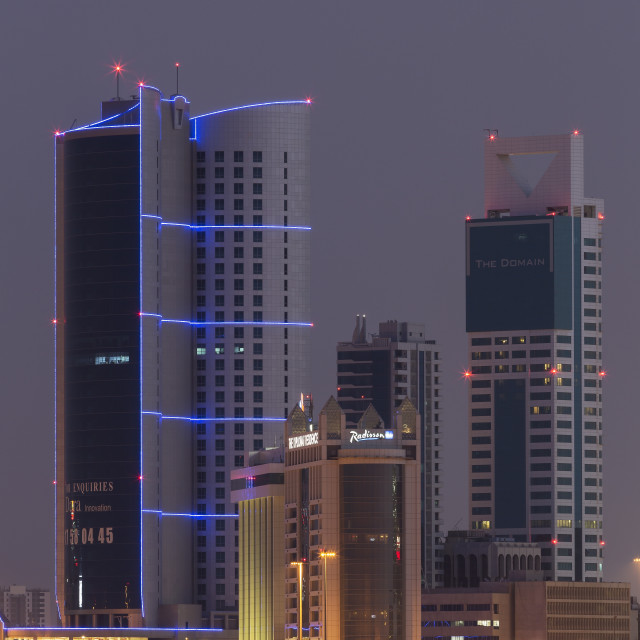 """Manama, Bahrain, Middle East"" stock image"