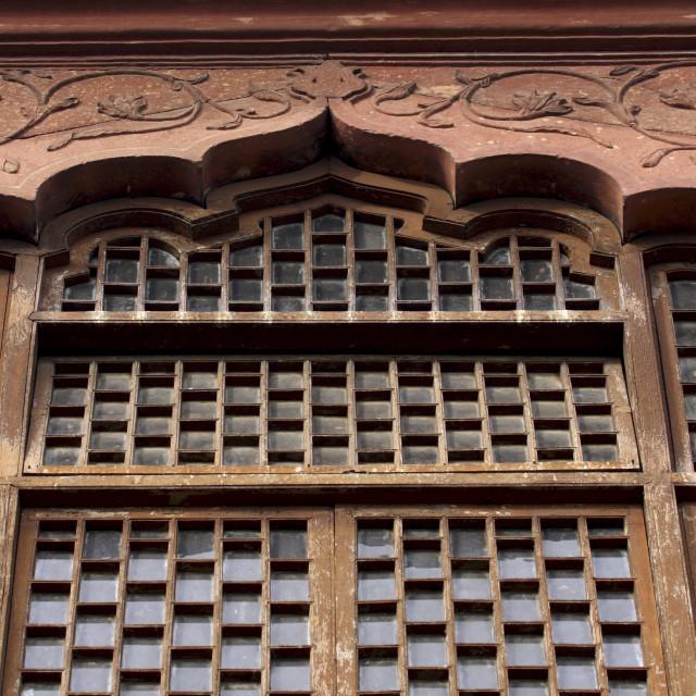 """""""Mughal architecture, Delhi, India, Asia"""" stock image"""