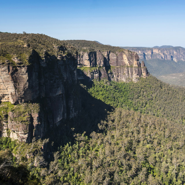 """Blue Mountains, New South Wales, Australia, Pacific"" stock image"
