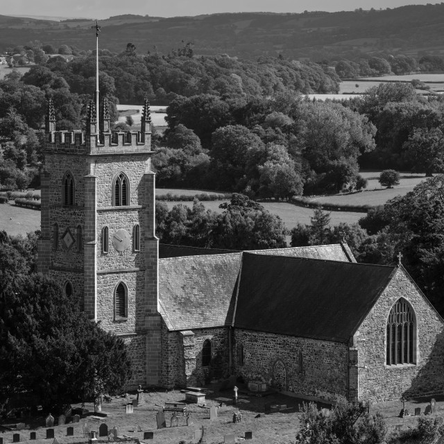 """St Nicholas' Church"" stock image"