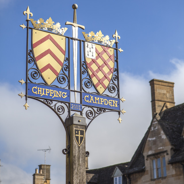 """""""Chipping Campden, Cotswolds, Gloucestershire, England, United Kingdom, Europe"""" stock image"""