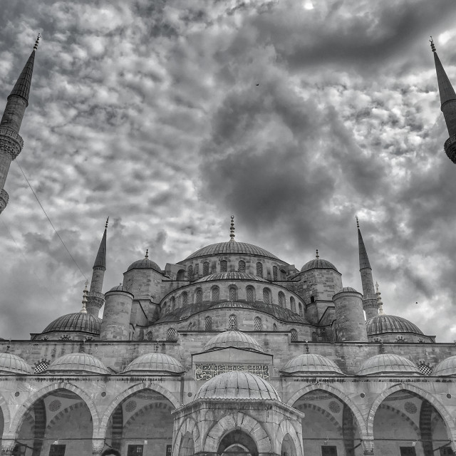 """The Blue Mosque"" stock image"