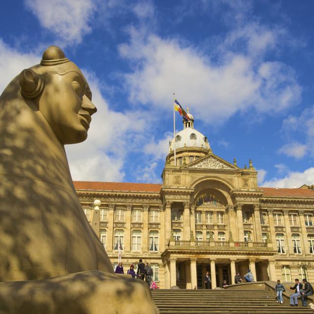 """Council House, Victoria Square, Birmingham, West Midlands, England, United..."" stock image"
