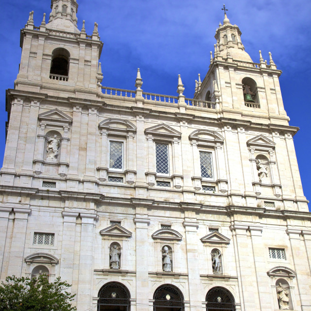 """Monastery of Sao Vicente de Fora, Lisbon, Portugal, Europe"" stock image"