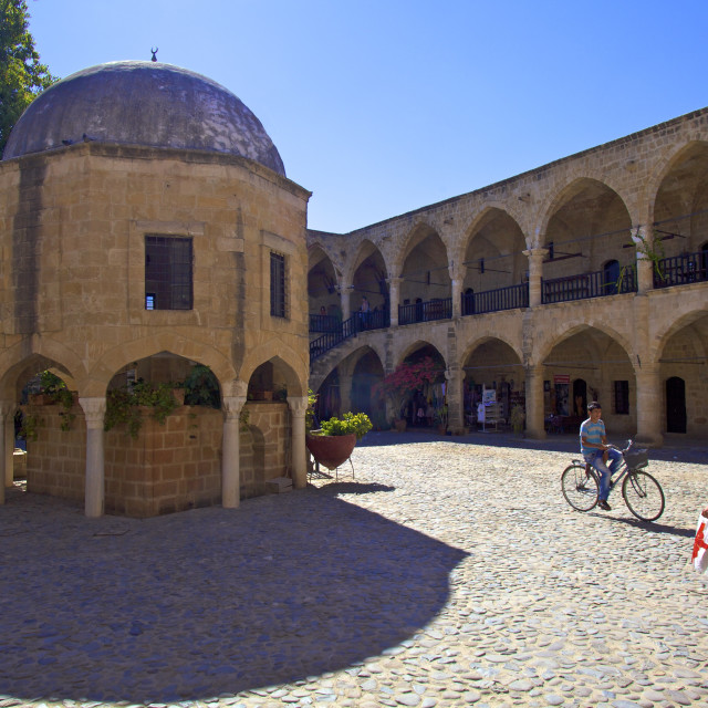 """Buyuk Han, North Nicosia (Lefkosa), North Cyprus, Cyprus, Europe"" stock image"
