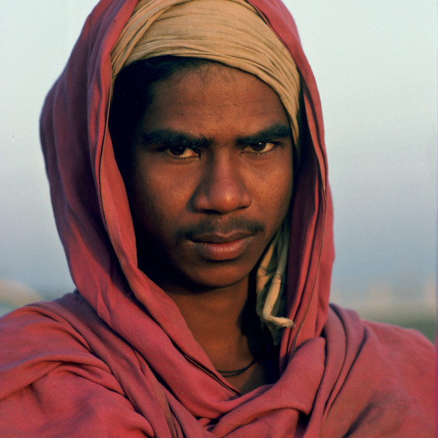 """Young man, Delhi, India."" stock image"