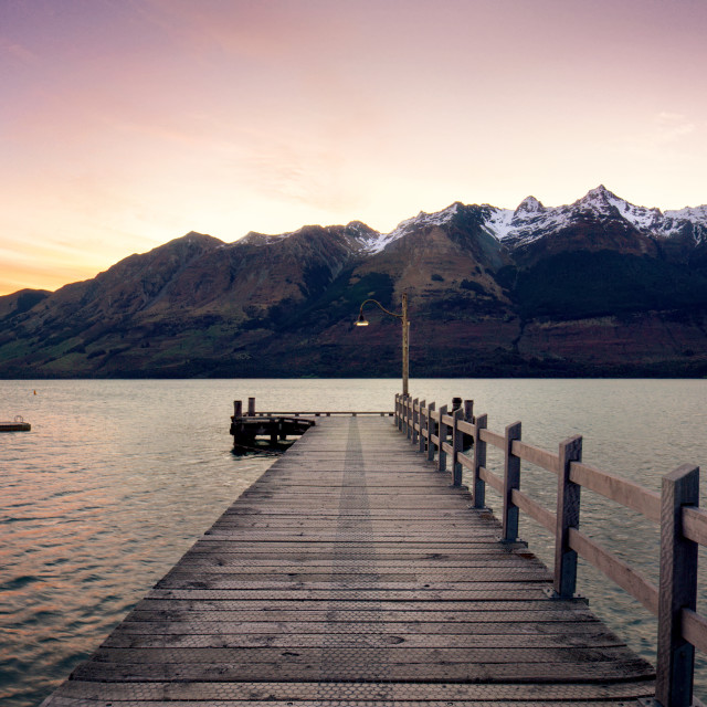 """Glenorchy"" stock image"