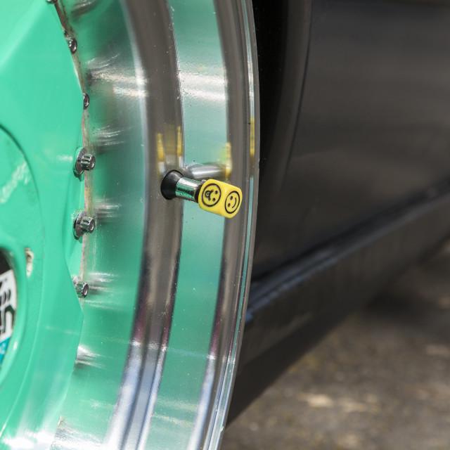 """Tyre valve"" stock image"