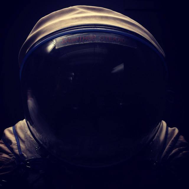 """Astronaut Helmet"" stock image"
