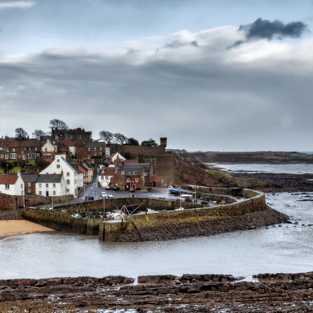 """Crail Seaside"" stock image"