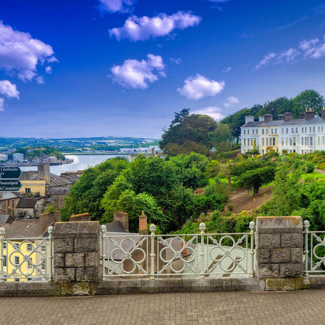 """Cobh, Ireland"" stock image"