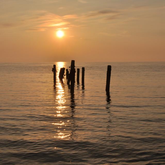 """Suffolk sunrise-2"" stock image"