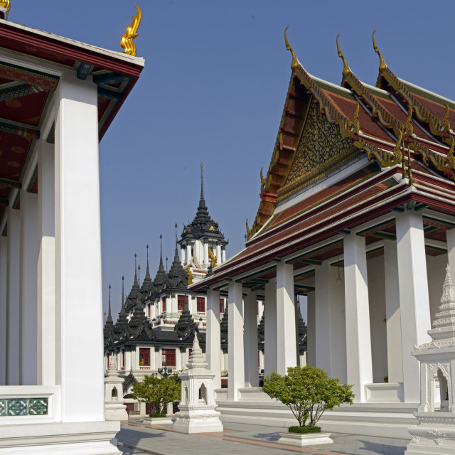 """the Loha Prasat . Bangkok"" stock image"