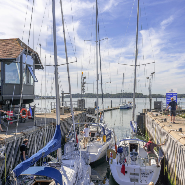 """Chichester harbour, estuary, West Sussex, England, United Kingdom, Europe"" stock image"