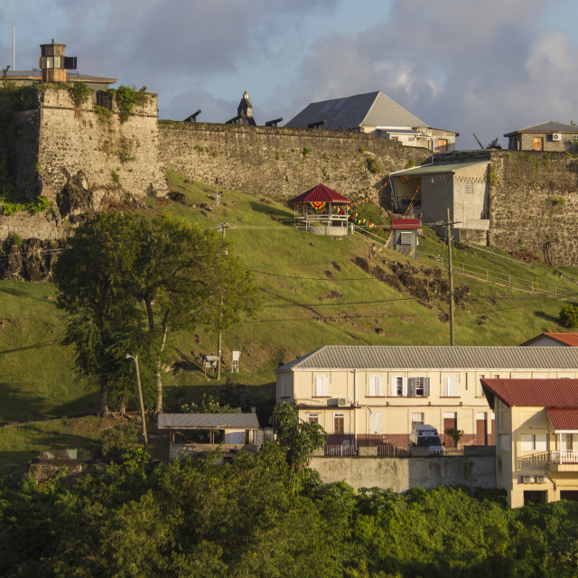 """Fort George, St. George's, Grenada, Windward Islands, West Indies, Caribbean,..."" stock image"