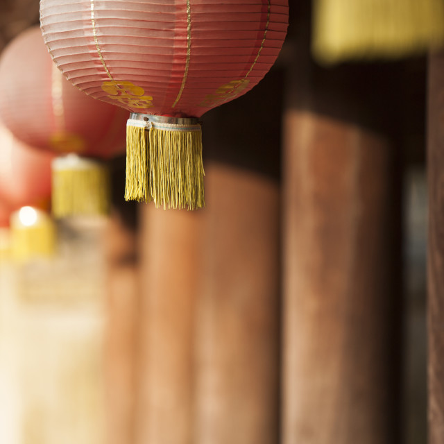 """Temple of Literature, Hanoi, Vietnam, Indochina, Southeast Asia, Asia"" stock image"