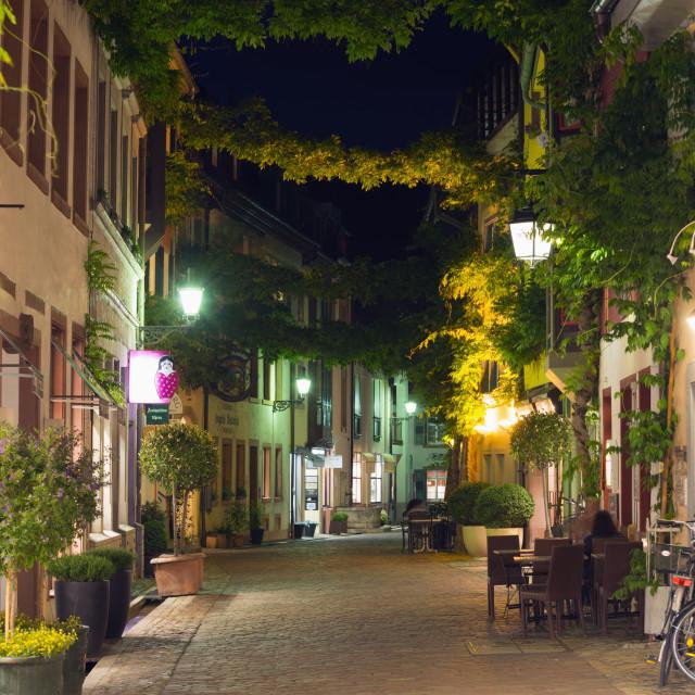 """""""Freiburg, Baden-Wurttemberg, Germany, Europe"""" stock image"""