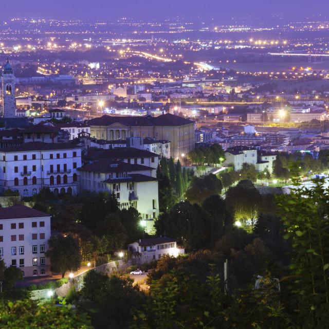 """Bergamo, Lombardy, Italy, Europe"" stock image"