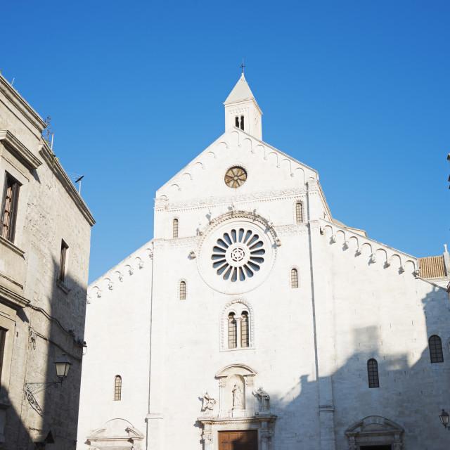 """Bari Cathedral, Bari, Puglia, Italy, Europe"" stock image"