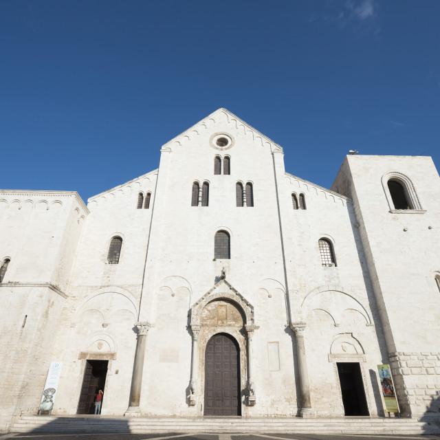 """San Nicola Basilica, Bari, Puglia, Italy, Europe"" stock image"