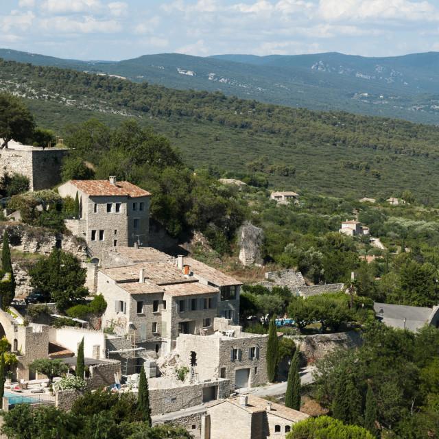 """""""Gordes, Provence, France, Europe"""" stock image"""