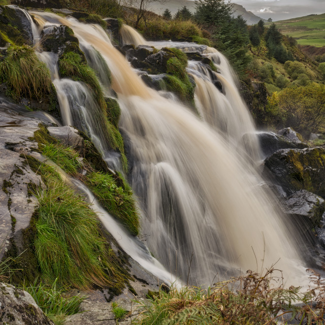 """The Loup of Fintry"" stock image"