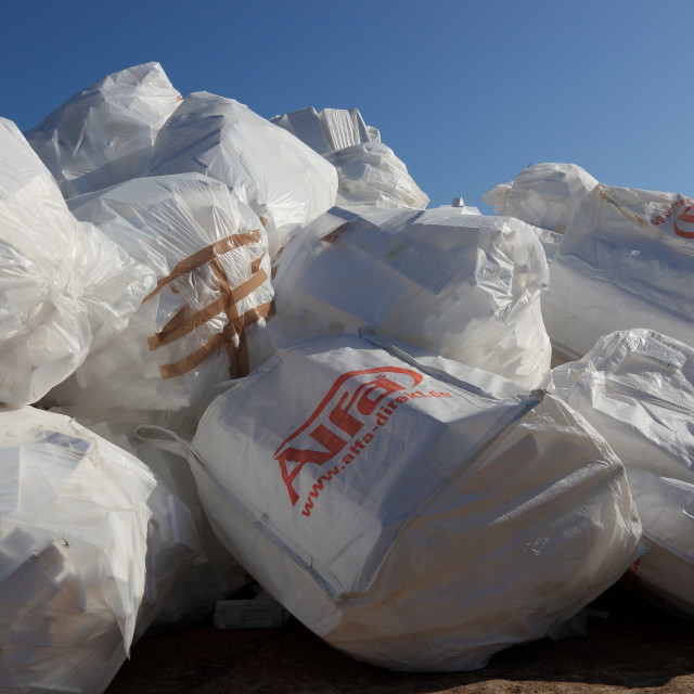 """""""Waste disposal for recycling"""" stock image"""