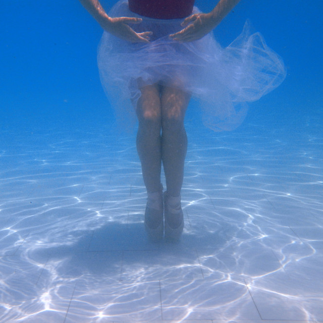 """Underwater Dance"" stock image"