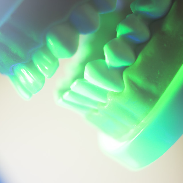"""""""Dental oral teeth model"""" stock image"""