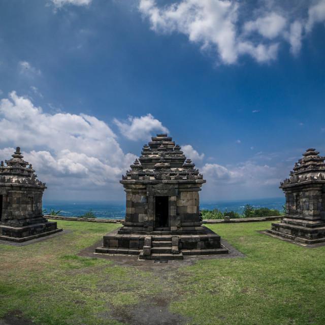 """Ijo Temple"" stock image"