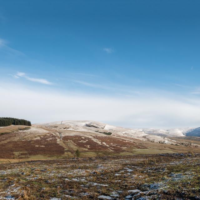 """Ochill Hills in Scotland"" stock image"