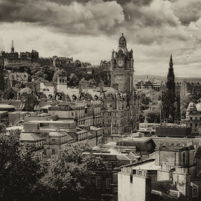 """Edinburgh City"" stock image"
