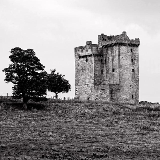 """Clackmannan Tower"" stock image"