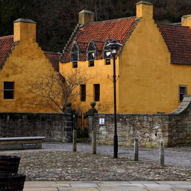 """Culross Palace"" stock image"