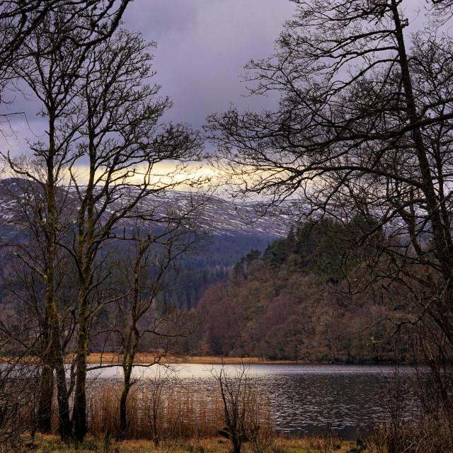 """""""Loch Venachar"""" stock image"""