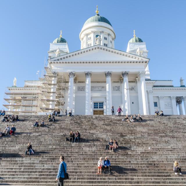 """Helsinki Cathedral"" stock image"